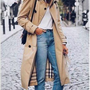 🌟🌟🌟Mid-length Trench Coat Burberry🌟🌟🌟